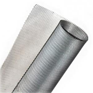 Сетка просечно-вытяжная оцинкованная 25 на 50 мм