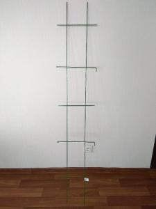 Сетка садовая прямая зелёная 300*1600мм