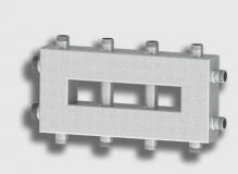 Гидравлический разделитель совмещенный с коллектором-2на2