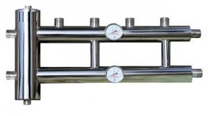 Гидрострелка с коллектором из нержавеющей стали 2+1 контур 60/85 квт