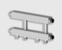 Каскадный узел горизонтального типа предназначен для подключения в каскад 2-х или 3-х котлов